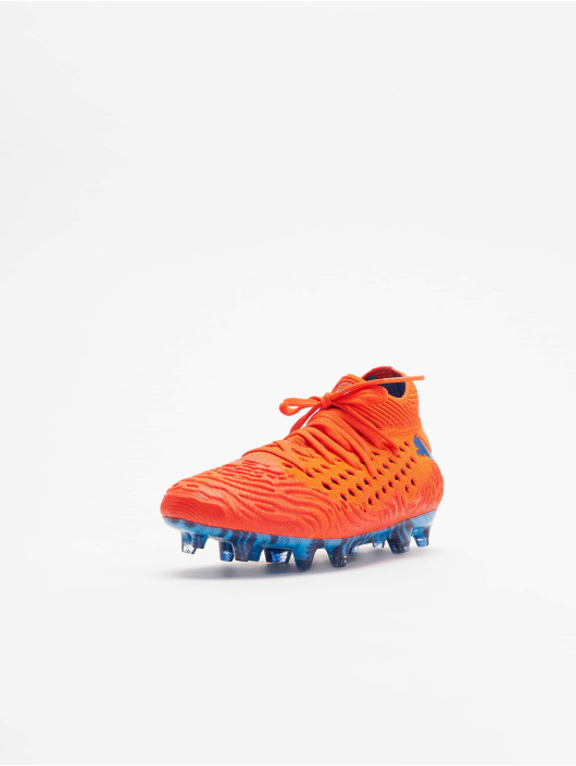 Puma Performance Sneakers Future 19.1 Netfit FG/AG pomaranczowy