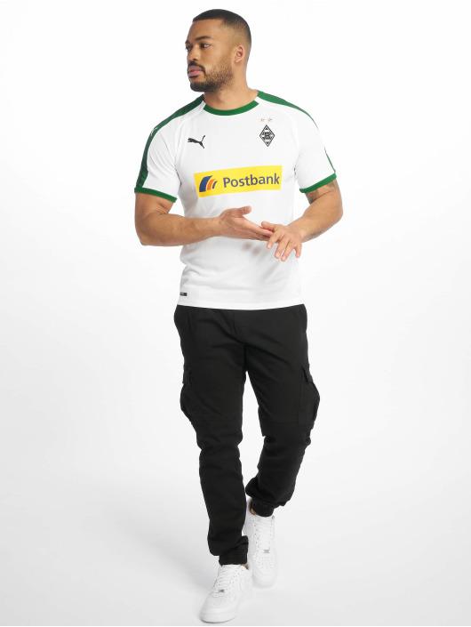 Puma Performance Soccer Jerseys BMG Home Replica Sponsor Logo white