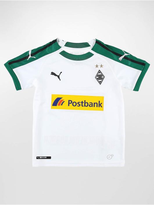 Puma Performance Soccer Jerseys BMG Home Replica Sponsor Logo Jr white