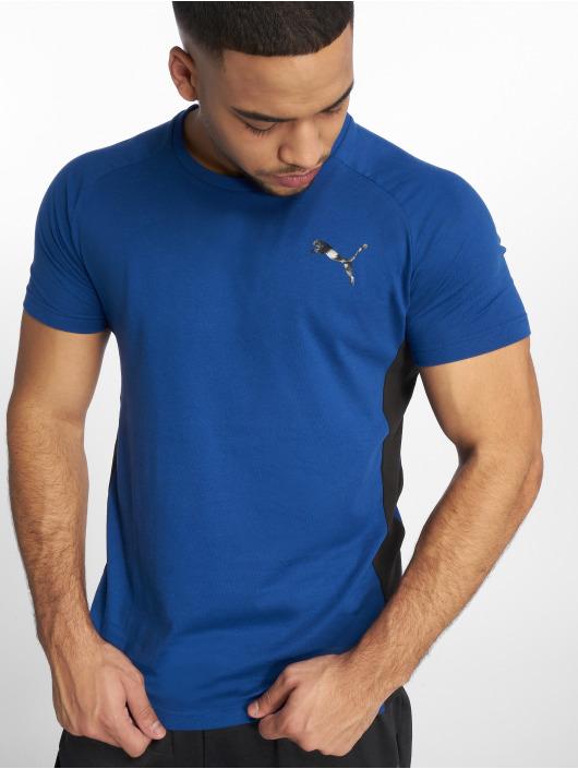 Puma Performance Sport Shirts Evostripe Warm blue