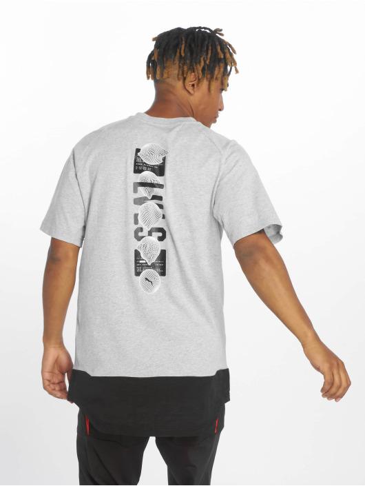 Puma Performance Sport Shirts Ftblnxt Casuals Graphic gray