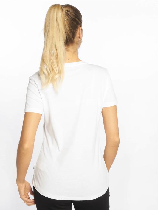 Puma Performance Sport Shirts ESS Logo white