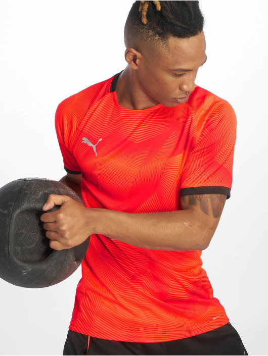 Puma Performance Sportshirts Graphic èervená