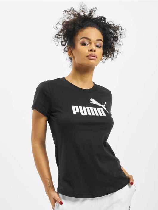 Puma Performance Sportshirts Amplified èierna