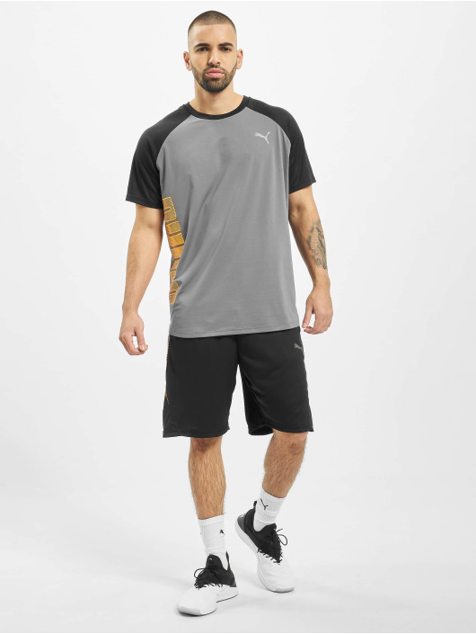 Puma Performance Sportshirts Collective Loud šedá