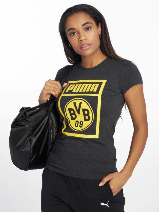 Puma Performance Sportshirts BVB Fanwear grau