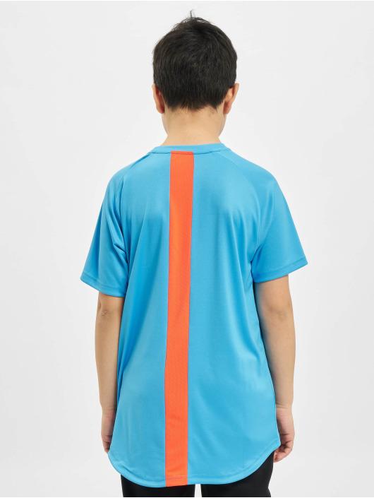 Puma Performance Sportshirts Junior modrá