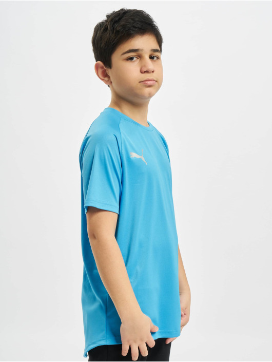Puma Performance Sportshirts Junior niebieski