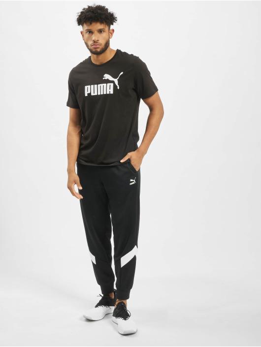 Puma Performance Sportshirts ESS Logo schwarz