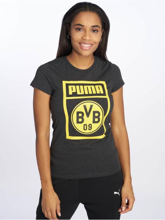 Puma Performance Sportshirts BVB Fanwear szary