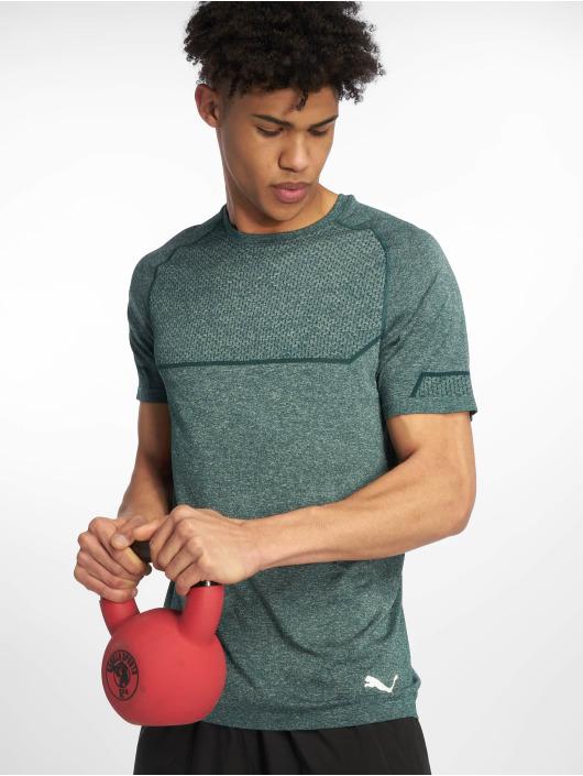 Puma Performance Sportshirts Energy Seamless zielony
