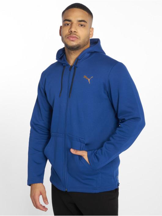 Puma Performance Sweat capuche zippé VENT bleu