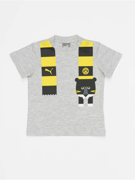 Puma Performance T-Shirt BVB Minicats Graphic grau