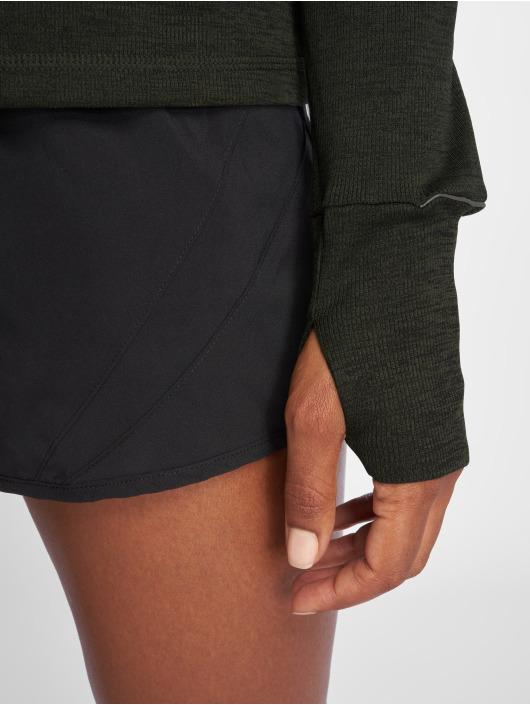 Puma Performance T-Shirt manches longues Ignite 1/2 Zip vert