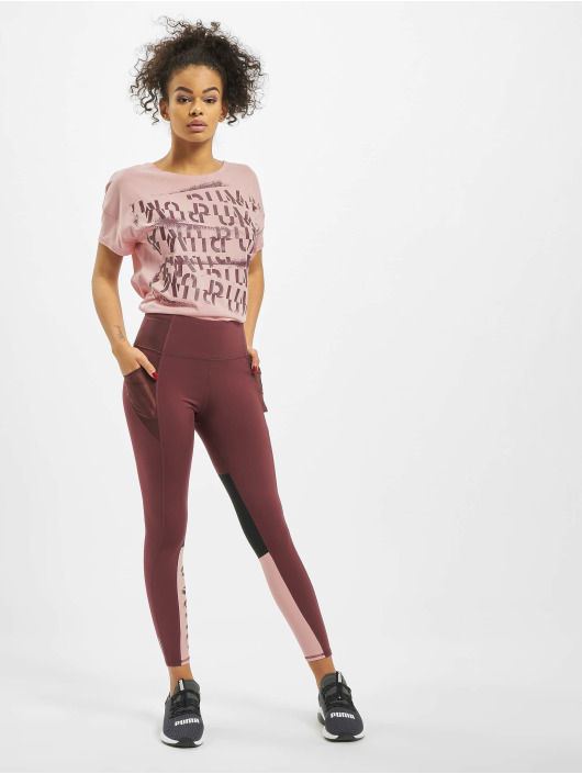 Puma Performance T-shirt Hit Feel It rosa chiaro
