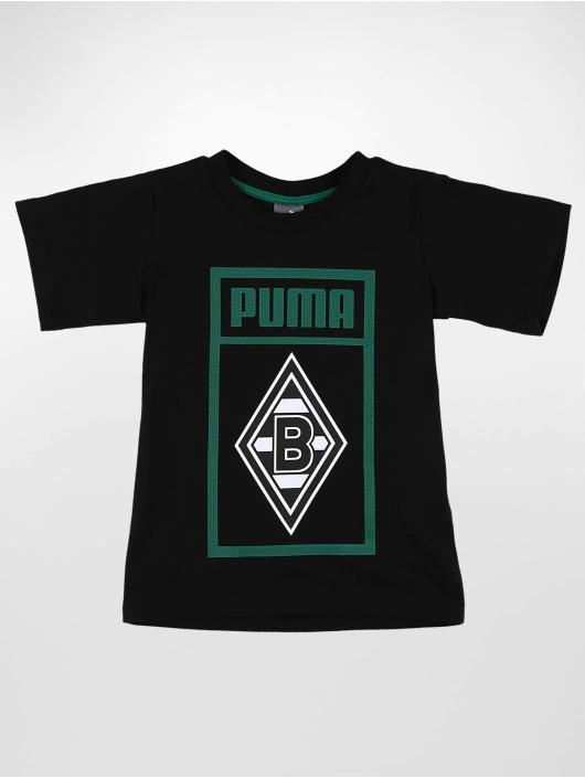 Puma Performance T-Shirt BMG Shoe Tag Jr schwarz