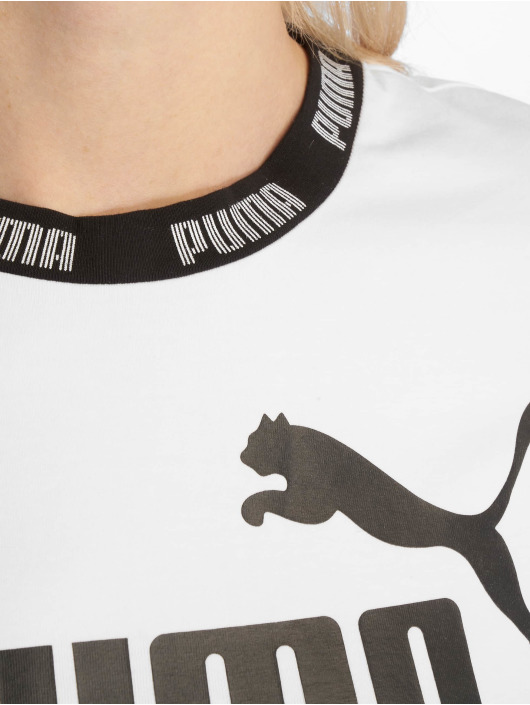 Puma Performance T-Shirt Amplified Cropped Tee weiß