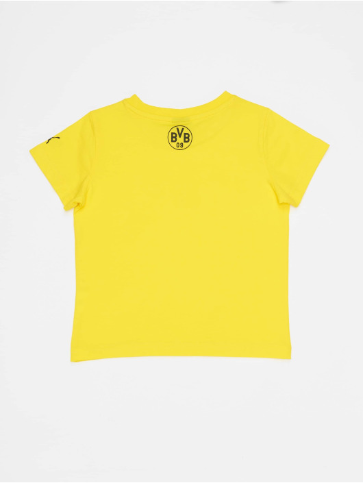 Puma Performance T-Shirt BVB Minicats Graphic yellow