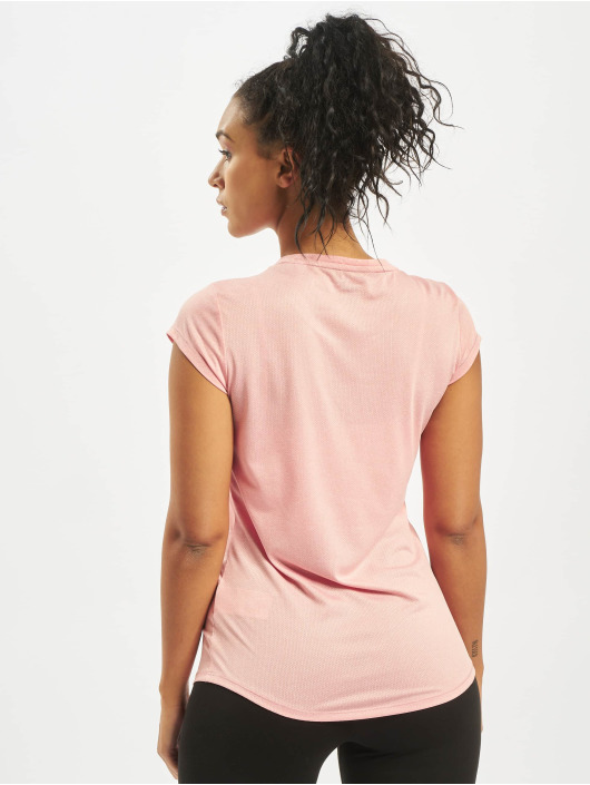 Puma Performance T-shirts Active Logo Heather rosa