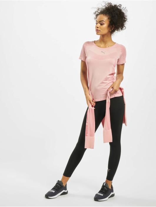 Puma Performance T-shirts Evoknit Core Seamle rosa