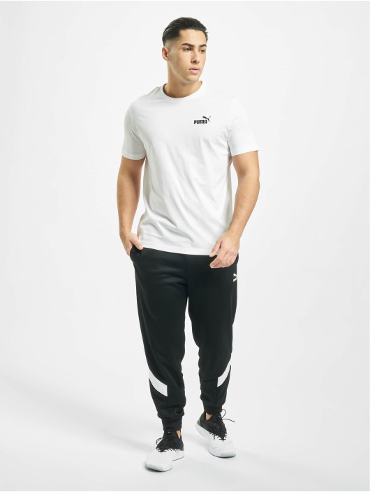Puma Performance T-Shirty Essentials Small Logo Tee bialy