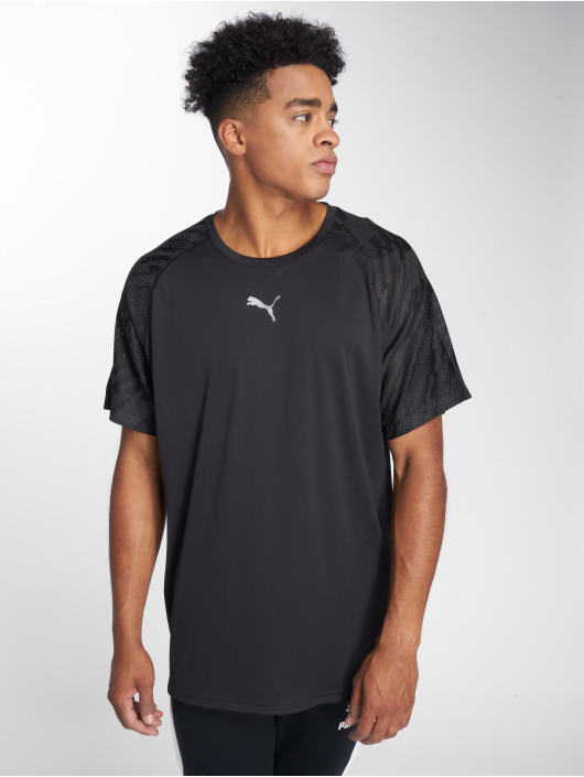 Puma Performance T-Shirty Vent Graphic czarny