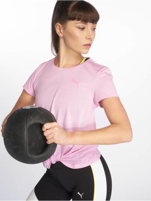 Puma Performance T-Shirty Turn It Up pink