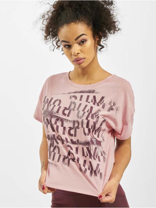 Puma Performance T-Shirty Hit Feel It rózowy
