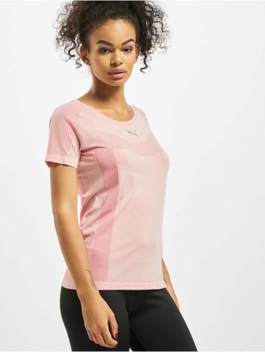 Puma Performance T-Shirty Evoknit Core Seamle rózowy