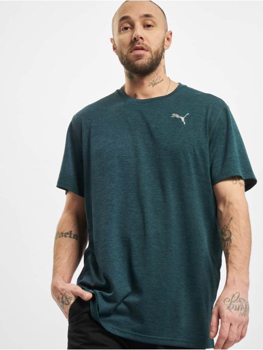 Puma Performance T-Shirty Ignite Heather zielony