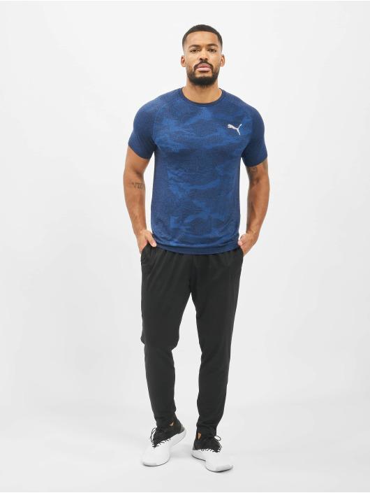 Puma Performance T-skjorter Performance Evostripe Seemless blå