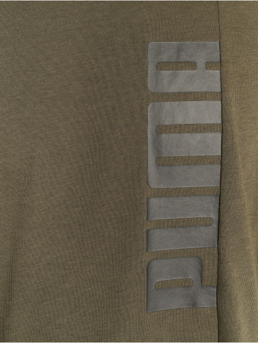 Puma Performance T-skjorter Energy Triblend Graphic oliven