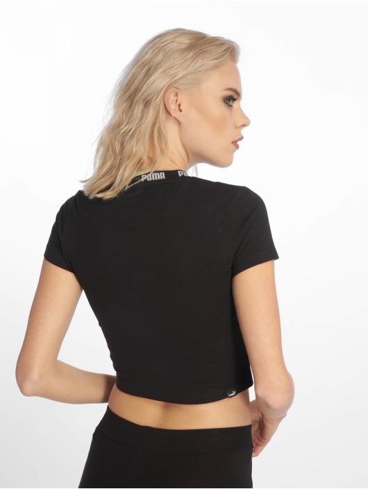 Puma Performance T-skjorter Amplified Cropped Tee svart