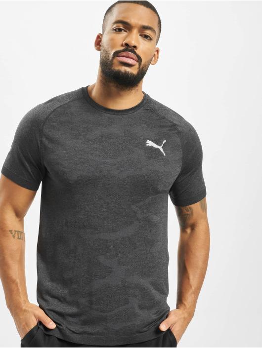 Puma Performance T-skjorter Evostripe Seemless svart