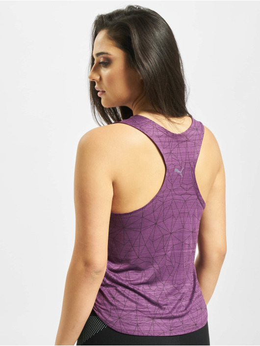 Puma Performance Tank Tops Studio Graphic fioletowy