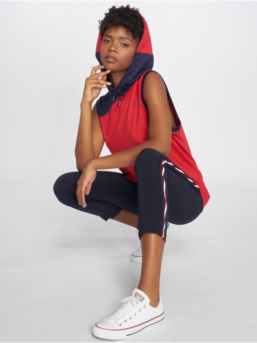 Puma Performance Top A.C.E Hooded rojo