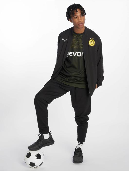 Puma Performance Trainingsjacken Brand-Logo-Stitches an den Schultern čern