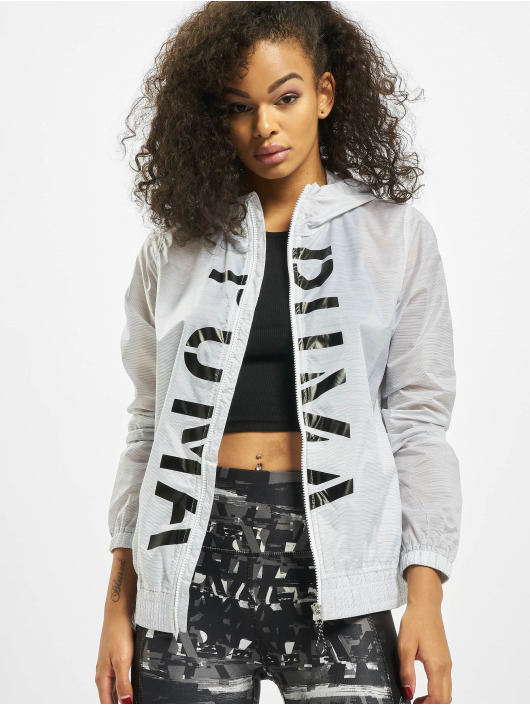 Puma Performance Trainingsjacken Be Bold Graphic Woven bialy
