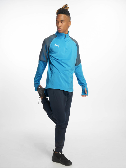 Puma Performance Trainingsjacken 1/4 Zip blau