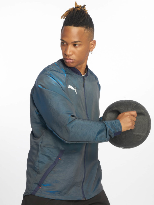 Puma Performance Trainingsjacken Pro niebieski