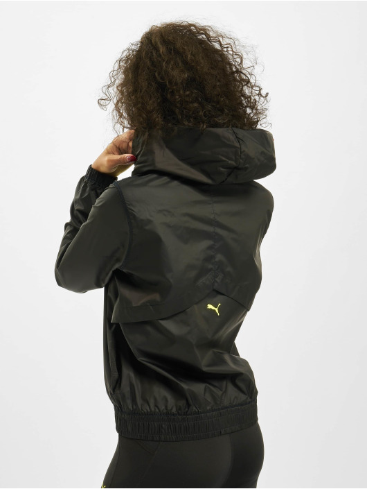 Puma Performance Trainingsjacks Be Bold Graphic Woven zwart