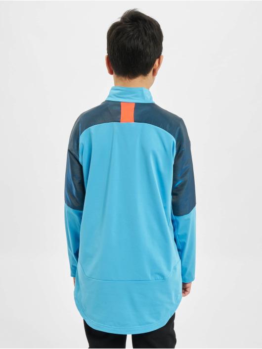 Puma Performance Tričká dlhý rukáv 1/4 Zip Junior modrá