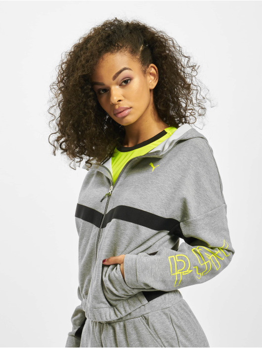 Puma Performance Übergangsjacke Hit Feel It grau