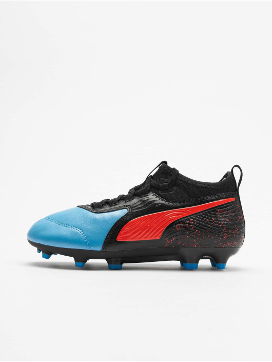 Puma Performance Veldvoetbalschoenen One 19.3 FG/AG Junior blauw