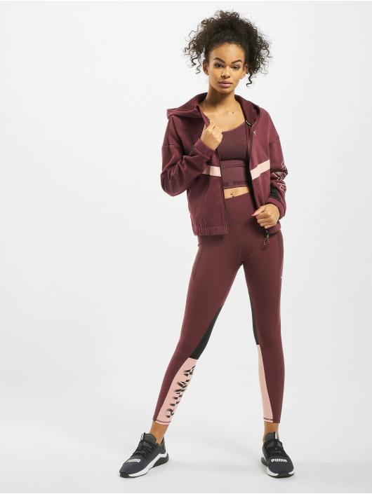 Puma Performance Veste mi-saison légère Hit Feel It Sweat rouge
