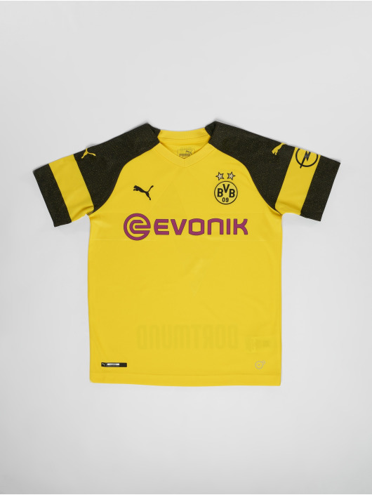 Puma Performance Voetbal tricots BVB Jr Home Replica geel
