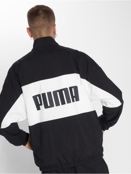 Puma Prechodné vetrovky Retro Woven èierna
