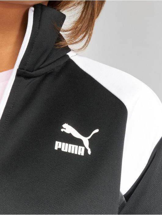 Puma Prechodné vetrovky Retro èierna