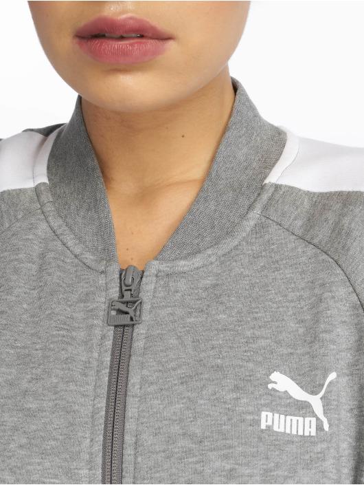 Puma Prechodné vetrovky Classics T7 šedá
