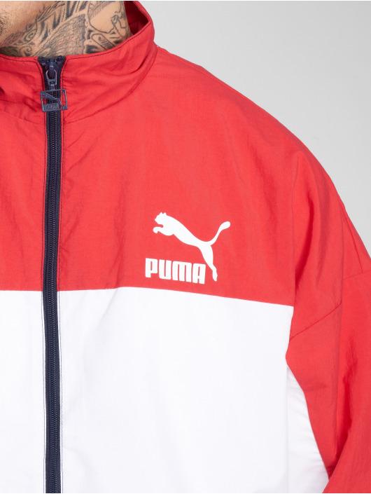 Puma Prechodné vetrovky Retro Woven modrá